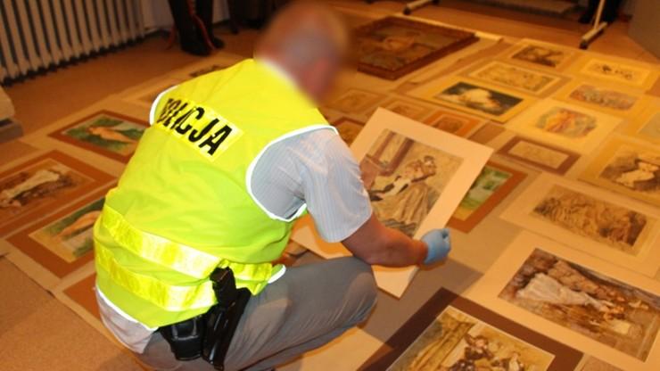 Wielkopolska policja odzyskała skradzione dzieła sztuki