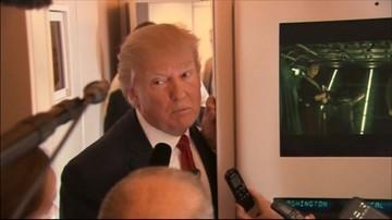 """Trump: """"coś powinno się stać"""" z syryjskim prezydentem"""