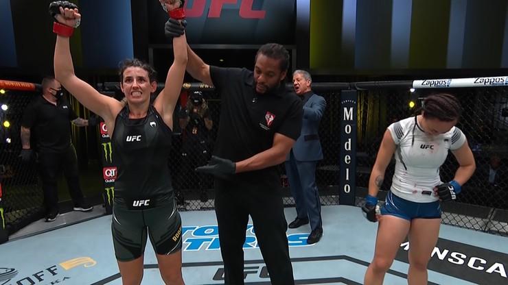 UFC Vegas 26: Marina Rodriguez pokonała Michelle Waterson w walce wieczoru