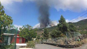 Wybuch wulkanu na kanaryjskiej wyspie La Palma. Ewakuowano 5 tys. osób