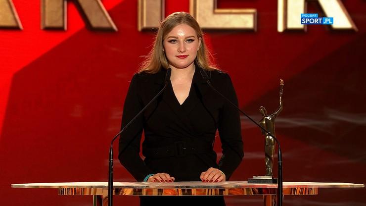 Faustyna Kotłowska z nagrodą w kategorii Sport bez barier