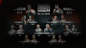 Polsat Boxing Night: Pełna karta walk