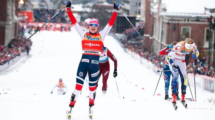 PŚ w biegach: Falla i Klaebo najlepsi w sprincie w Drammen