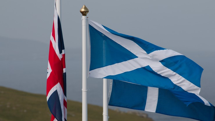 Sondaż: z powodu Brexitu więcej Szkotów za niepodległością