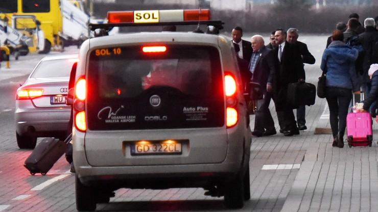 Lech Wałęsa wrócił do Gdańska. Tam również nie spotkał się z dziennikarzami