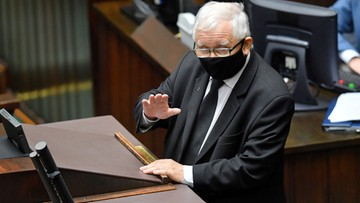 Kaczyński powinien odejść ze stanowiska prezesa PiS? Tak uważa większość badanych