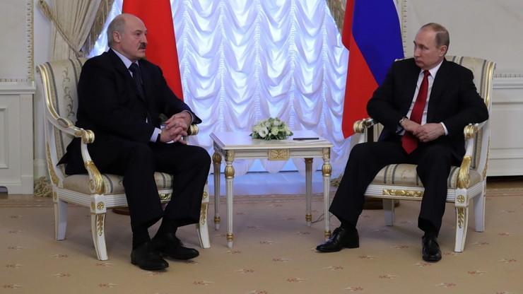 Łukaszenka: w związku z zamachem spory z Rosją odeszły na dalszy plan