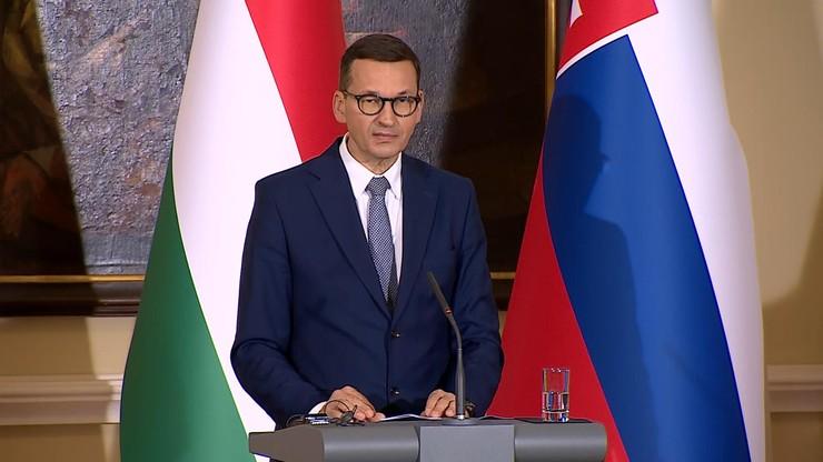 Morawiecki: jesteśmy przeciwko centralizacji, opowiadamy się za silną rolą państw suwerennych w UE