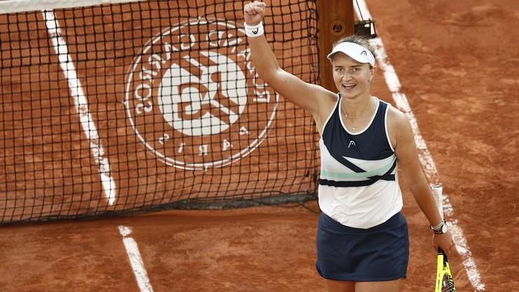 Roland Garros: Barbora Krejcikova w finale po trzysetowym maratonie z Marią Sakkari