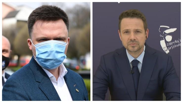Szymon Hołownia liderem opozycji. Najnowszy sondaż