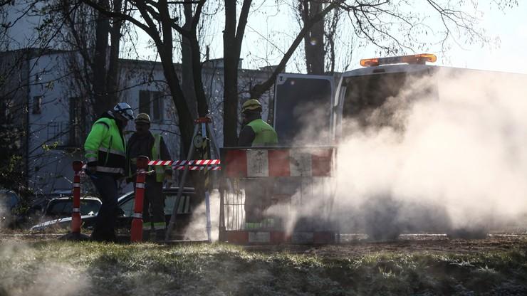 Znamy przyczynę awarii sieci ciepłowniczej na ul. Powsińskiej
