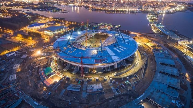 Rosja: najdroższy stadion na MŚ nie nadaje się do gry
