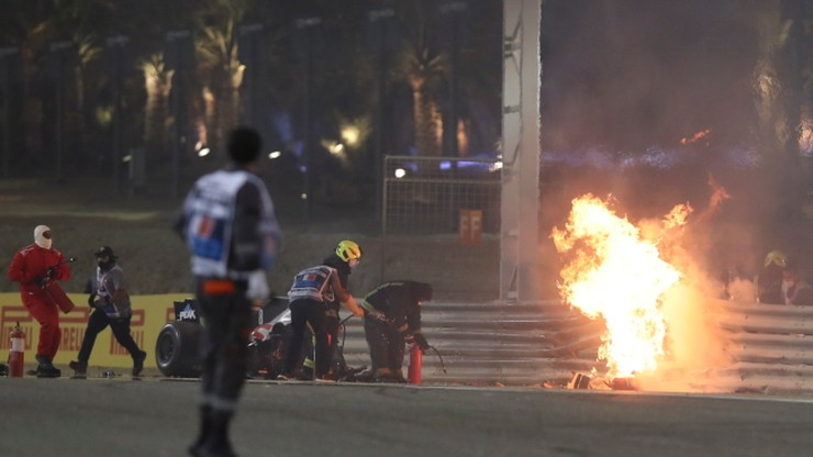 Formuła 1. Team Haas: Romain Grosjean powinien opuścić szpital we wtorek