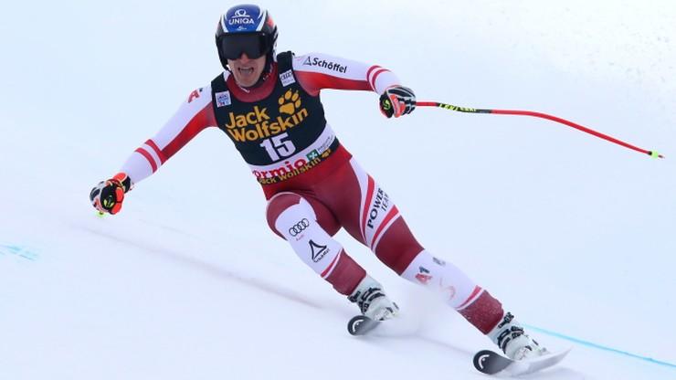 Alpejski PŚ: Austriacy się doczekali. Matthias Mayer wygrał zjazd w Bormio