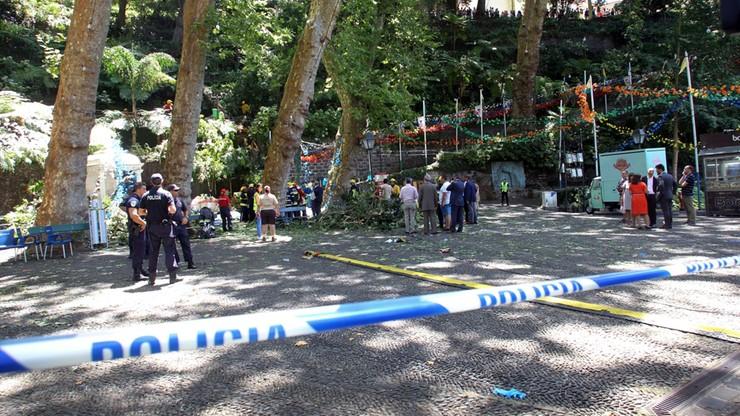 Drzewo przygniotło ludzi podczas obchodów religijnych w Portugalii. Zginęło 12 osób