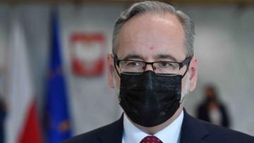"""Minister zdrowia objęty ochroną. """"Podjęte zostały również kroki prawne"""""""