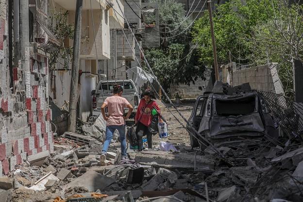 Beit Hanun, w północnej części Strefy Gazy