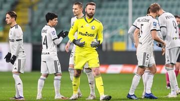 PKO BP Ekstraklasa: Wpadka Legii na wagę utraty fotela lidera