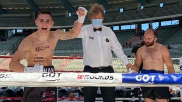 Zwycięstwa Harwankowskiego i Kalengi na gali w Belgii