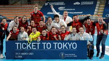 Tokio 2020: Piłkarki ręczne z Norwegii, Czarnogóry i Hiszpanii zagrają w igrzyskach