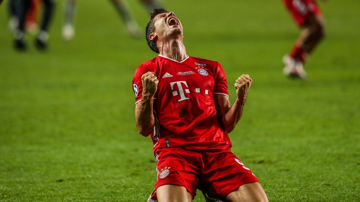 Robert Lewandowski wygrał Ligę Mistrzów i przeszedł do historii