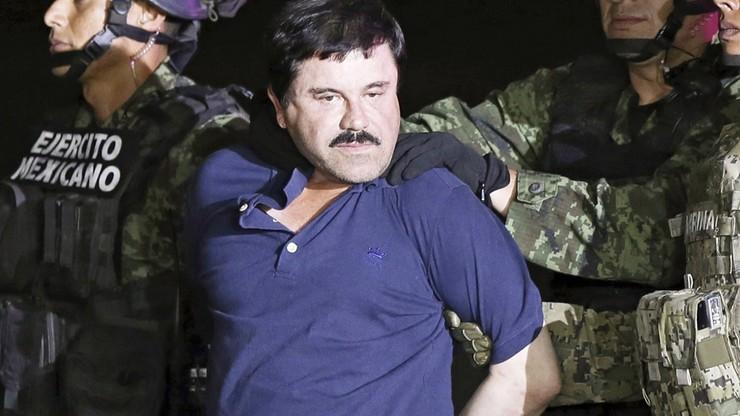 "Baron narkotykowy ""El Chapo"" skazany na dożywocie"