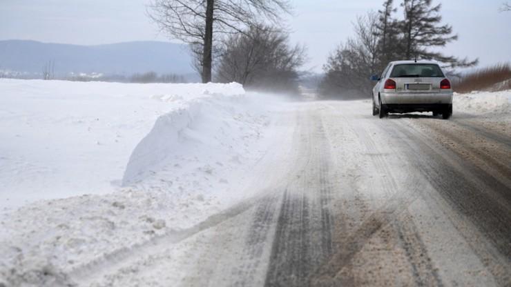 Powrót zimy. Intensywne opady śniegu na wschodzie kraju