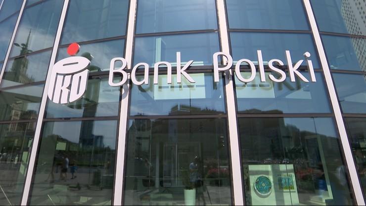 Rezygnacja Zbigniewa Jagiełły z funkcji prezesa spowodowała spadek akcji banku PKO BP