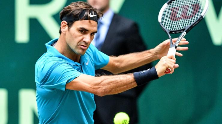 ATP w Halle: Porażka Federera w finale i spadek z fotela lidera