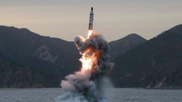 Korea Północna przeprowadziła test rakiety balistycznej. Trump komentuje