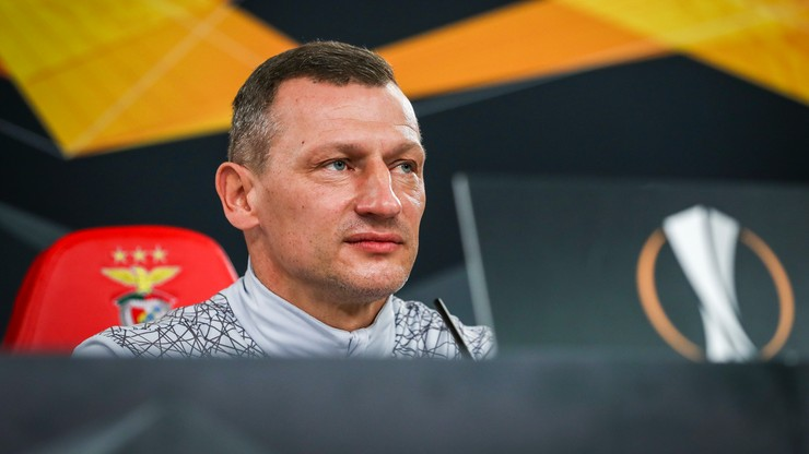 Dariusz Żuraw po meczu z Benfiką: Teraz skupiamy się na Podbeskidziu