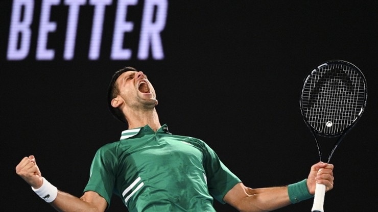 Australian Open: Awans Novaka Djokovica do 1/8 finału. Kibice buczeli i gwizdali