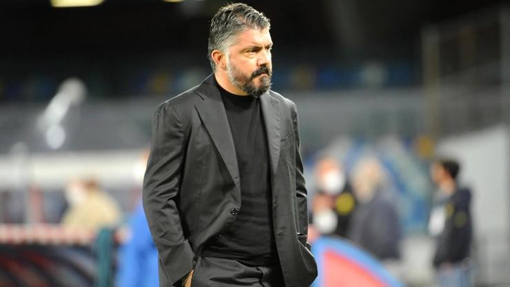 Serie A: Gennaro Gattuso odchodzi z Napoli. Potwierdził to właściciel klubu