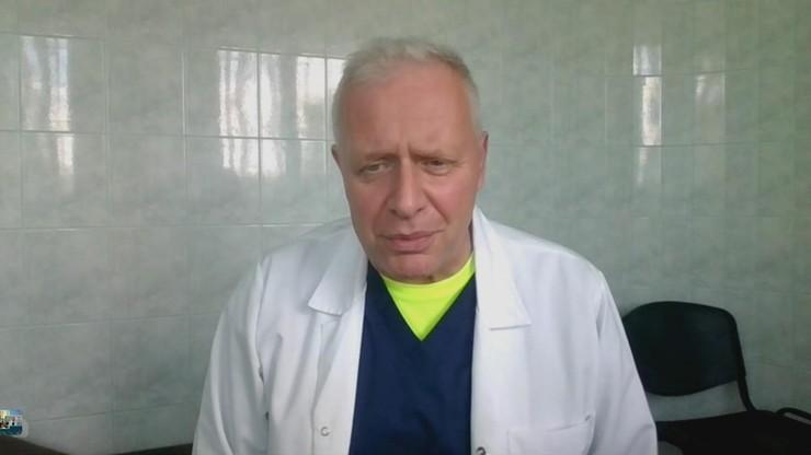 Dr Sutkowski: jestem za obowiązkiem szczepień dla niektórych grup zawodowych