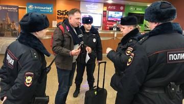 Współpracownik Nawalnego zatrzymany na lotnisku w Moskwie