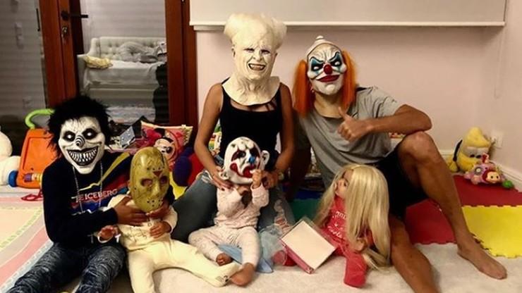 Sportowe upiory!  Kto wygrał konkurs na Halloween? (ZDJĘCIA)