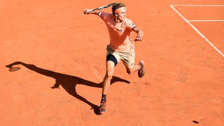 French Open: Pięciosetowe mecze Zvereva i Dimitrowa w 2. rundzie