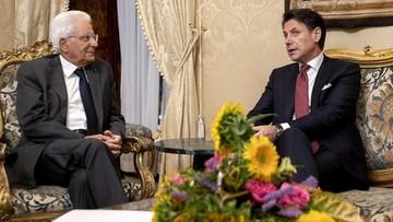Premier Włoch, Giuseppe Conte, złożył dymisję na ręce prezydenta