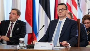 Morawiecki: nie powinniśmy pytać, co Europa może zrobić dla nas, ale co my możemy zrobić dla Europy