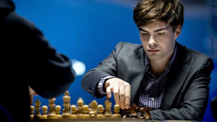 Szachowy turniej w Wijk aan Zee: Jan-Krzysztof Duda zremisował z Jordenem Van Foreestem