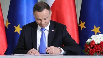 Prezydent popisał ustawę ws. gazociągu Baltic Pipe