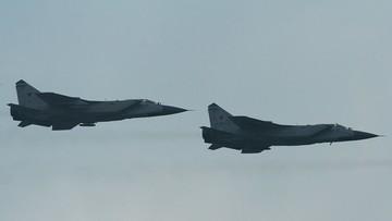 Myśliwce NATO i fińskie przechwyciły rosyjskie samoloty koło Estonii