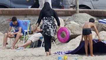 Zakaz burkini na plażach zawieszony. Decyzja francuskiej Rady Stanu