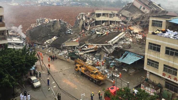 Odnaleziono ciało jednej ofiary osunięcia ziemi w Chinach, 81 zaginionych