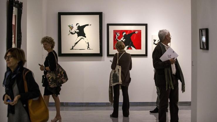 Banksy w Rzymie. Największa na świecie wystawa prac