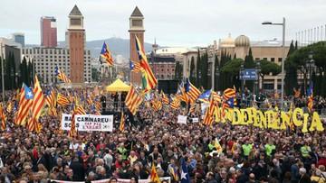 Katalonia broni działaczy niepodległościowych. Wielka manifestacja w Barcelonie