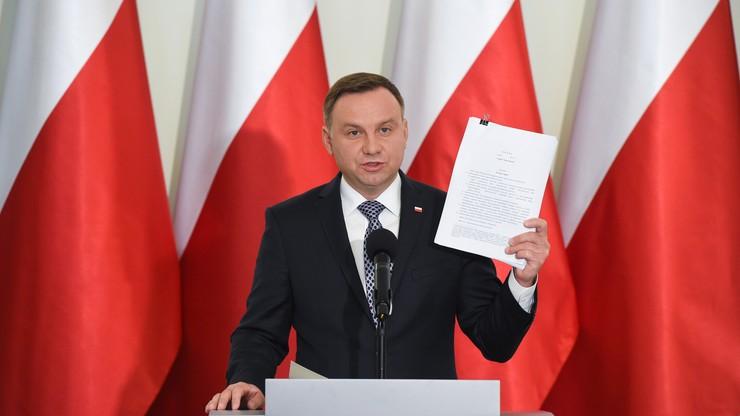 Jutro projekty prezydenta powinny trafić do Sejmu