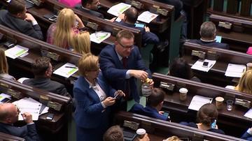 """Zbiórka na Gowina"". Po sali plenarnej krążył"