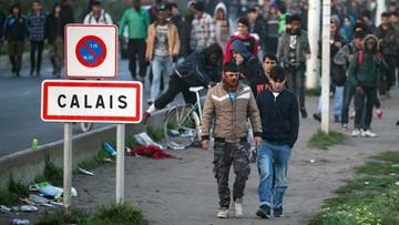 """Zakończono ewakuację nieletnich z """"dżungli"""" w Calais"""