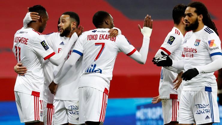 Ligue 1: Olympique Lyon nowym liderem przynajmniej do niedzieli